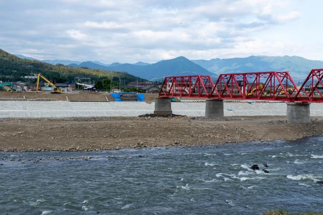 上田交通千曲川橋梁