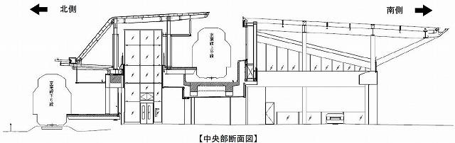 幕張新駅構造