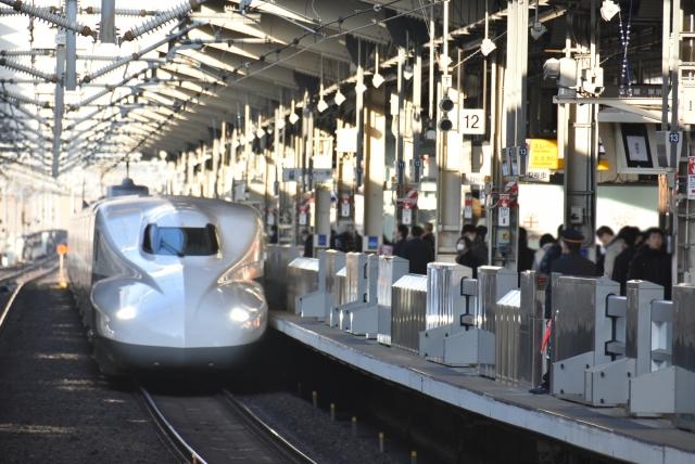 JR京都駅新幹線