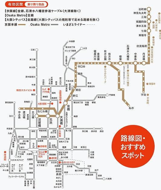 京阪大阪メトロフリーチケット