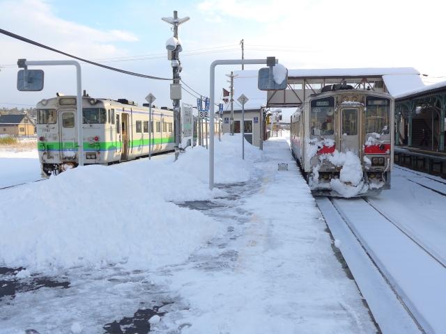 宗谷線名寄駅
