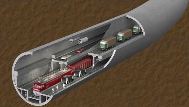 津軽海峡トンネル