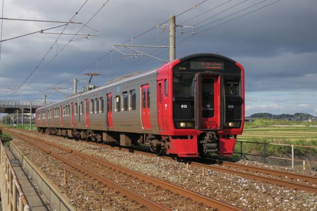 日豊線813系