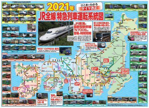 JJTB時刻表2021年3月号付録