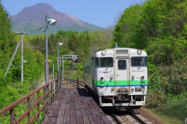 函館線キハ40