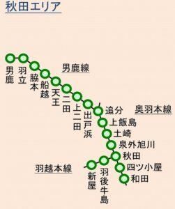 Suica秋田エリア