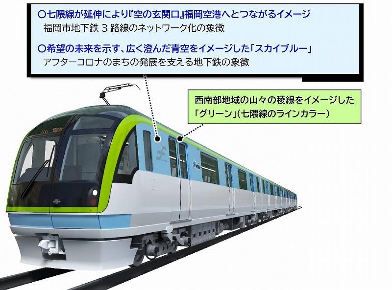 福岡地下鉄3000A系