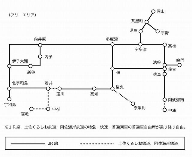 四国たびきっぷ