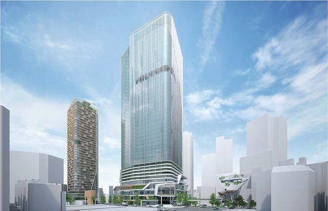 渋谷二丁目西地区再開発