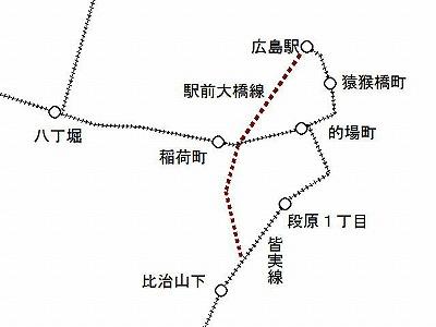 広電駅前大橋線