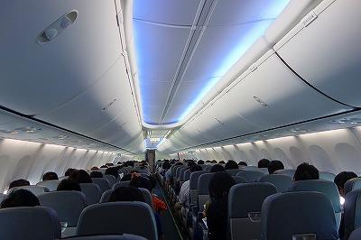 春秋航空日本機内