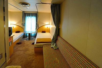 飛龍21の2等寝台